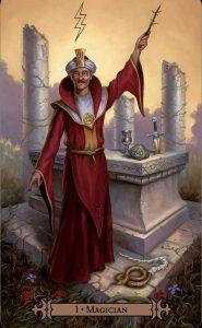 image: magician card